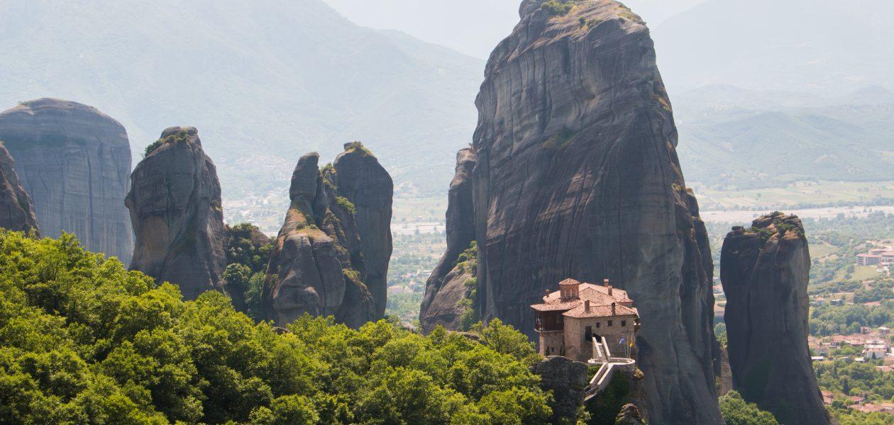 Meteora grecia monasterios