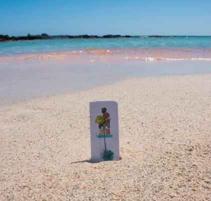 arena rosa elafonisi creta grecia