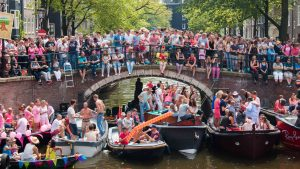 Gay pride Amsterdam Mambo Viajero